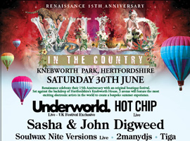 Underworld to headline Wild In The Country